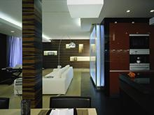 Квартира «», гостиная . Фото № 2304, автор Тальфельд Амалия (МАО)