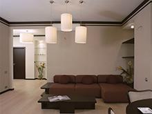 Квартира «», гостиная . Фото № 2341, автор Борисова Юлия