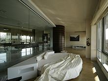 Квартира «», спальня . Фото № 2309, автор Казаковцева Александра, Махонина Мария, МК-интерио