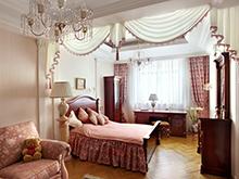 Квартира «», спальня . Фото № 2414, автор Борисова Юлия