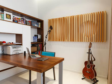 Квартира «Экоквартира на Морском проспекте», музыкальная комната . Фото № 25167, автор Fisheye Architecture & Design   Александр
