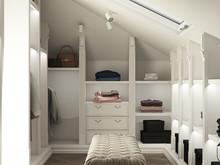 Квартира «Flawlessness style», гардеробная . Фото № 25963, автор U-Style