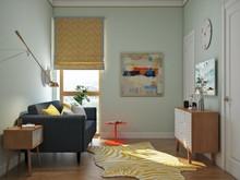 Квартира «МОДНЫЕ КВАРТАЛЫ», гостевая . Фото № 26300, автор Алёны Чекалиной Дизайн студия