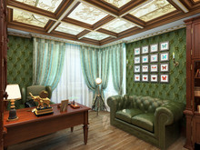 Квартира «Квартира 2014Б», кабинет . Фото № 26424, автор Аверина Алла