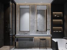 Квартира «UI001», ванная . Фото № 26547, автор U-Style