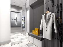 Квартира «Проект ЖК Крестовский De Luxe», прихожая . Фото № 26564, автор Fisheye Architecture & Design   Александр