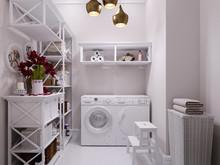 Квартира «American Dream», подсобные помещения . Фото № 26578, автор Маркус-Симонян Гиля