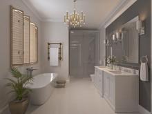Квартира «American Dream», ванная . Фото № 26573, автор Маркус-Симонян Гиля