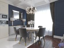Квартира «American Dream», столовая . Фото № 26570, автор Маркус-Симонян Гиля
