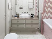 Квартира «ЖК Сколково Парк», ванная . Фото № 26594, автор Студия дизайна Insdesign