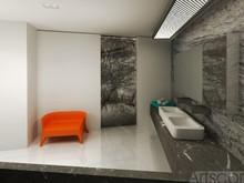 Квартира «Интерьер квартиры студии для фотографа», ванная . Фото № 26599, автор Artscor Дизайн студия