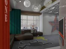 Квартира «Интерьер квартиры в стиле лофт», гостиная . Фото № 26630, автор Artscor Дизайн студия