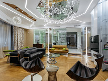 Квартира «Квартира на Золотой миле », гостиная . Фото № 26642, автор Artscor Дизайн студия