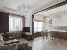 Квартира «Милый дом», гостиная . Фото № 26706, автор Щетинина Наталья
