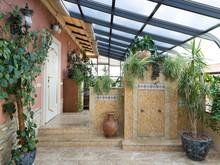 Квартира «Двухуровневая квартира с зимним садом», зимний сад . Фото № 26739, автор Чащина Оксана