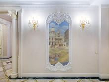 Квартира «Двухуровневая квартира с зимним садом», холл . Фото № 26735, автор Чащина Оксана