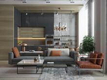 Квартира «Апартаменты 18», гостиная . Фото № 26773, автор Новиков Андрей