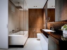 Квартира «ЖК Лосиный Остров», ванная . Фото № 26799, автор INRE