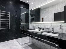 Квартира «квартира на Студенческой улице», ванная . Фото № 26812, автор Gallery63
