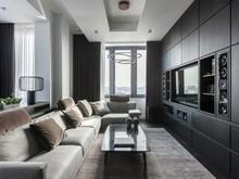 Квартира «квартира на Студенческой улице», гостиная . Фото № 26808, автор Gallery63