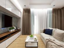 Квартира «Уютная квартира для молодоженов», гостиная . Фото № 26845, автор Новиков Андрей
