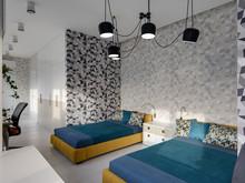 Квартира «Минимализм в ЖК Парус», кабинет . Фото № 26853, автор Art-i-Сhok