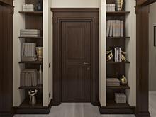 Квартира «Дизайн двухуровневой квартиры 157 кв.м. Мансарда для семьи с ребенком», коридор . Фото № 26867, автор Соболев Павел