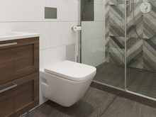 Квартира «Tcnm bltz - tcnm ИКЕА», ванная . Фото № 26899, автор Новиков Андрей