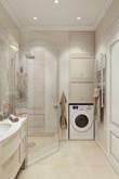 Квартира «Дизайн квартиры в ЖК Алые паруса», ванная . Фото № 26906, автор Соболев Павел