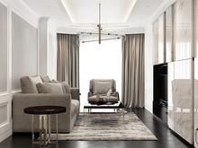 Квартира «UI004», гостиная . Фото № 26946, автор U-Style