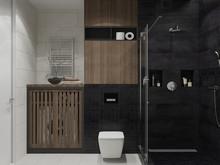 Квартира «Апартаменты в ЖК Фили Град», ванная . Фото № 26972, автор OM DESIGN Студия дизайна