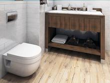 Квартира «Дизайн двухуровневой квартиры 170 кв.м. Северное сияние», ванная . Фото № 26978, автор Соболев Павел
