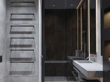 Квартира «UI001», ванная . Фото № 26988, автор U-Style