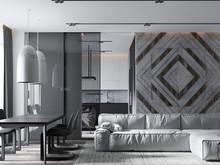 Квартира «UI001», гостиная . Фото № 26985, автор U-Style