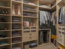 Квартира «ДИЗАЙН ИНТЕРЬЕРА ТРЕХКОМНАТНОЙ КВАРТИРЫ В ЖК МОЙ АДРЕС», гардеробная . Фото № 27049, автор OM DESIGN Студия дизайна