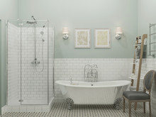 Квартира «ДИЗАЙН ИНТЕРЬЕРА КВАРТИРЫ В ЖК СОЛНЕЧНАЯ СИСТЕМА», ванная . Фото № 27072, автор OM DESIGN Студия дизайна