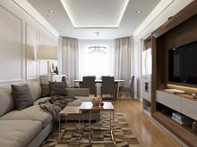 Квартира «Квартира на Полковой», гостиная . Фото № 27106, автор Жданов Евгений