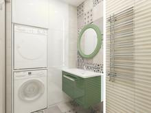 Квартира «квартира в Минске», ванная . Фото № 27124, автор Лапина Марина