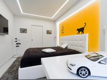 Квартира «Квартира 60м2, ул. Маршала Малиновского, Москва», спальня . Фото № 27166, автор Уразметов Рустэм