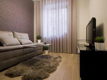 Квартира «Квартира 67,7 м2, ул. 3-я Песчаная, Москва», спальня . Фото № 27179, автор Уразметов Рустэм