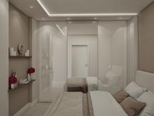 Квартира «Квартира г.Москва», спальня . Фото № 27185, автор Андреева Анастасия