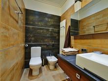 Квартира «Фешенебельная квартира с панорамным», ванная . Фото № 27198, автор Коваленко Андрей