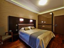 Квартира «Фешенебельная квартира с панорамным», спальня . Фото № 27195, автор Коваленко Андрей