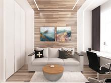 Квартира «Квартира 170 м2, ул. Дмитрия Ульянова, Москва», кабинет . Фото № 27228, автор Уразметов Рустэм
