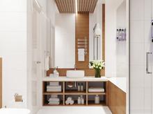 Квартира «Квартира 170 м2, ул. Дмитрия Ульянова, Москва», ванная . Фото № 27229, автор Уразметов Рустэм