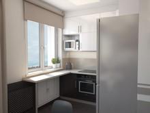 Квартира «Студия», кухня . Фото № 27276, автор Комаров Дмитрий