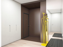Квартира «Квартира в ЖК Новая скандинавия», прихожая . Фото № 27382, автор background архитектурная студия