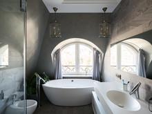 Квартира «UI006», ванная . Фото № 27400, автор U-Style