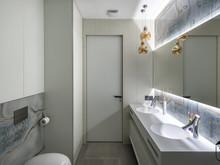 Квартира «UI006», ванная . Фото № 27401, автор U-Style