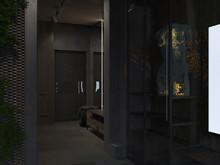 Квартира « «Морская» Современная квартира во Владивостоке: интерьер дизайнера Валерия Бокова. Разработан в 2018 году.», прихожая . Фото № 27406, автор Боков Валерий
